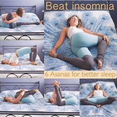 Toaday's by If you suffer from late-night mind racing keep on reading: These restorative calming yoga for insomnia poses will help you wind down fora good night's sleep. Use this combination of breath and movement to activate # yoga for insomnia Fitness Workouts, Yoga Fitness, Health Fitness, Fitness Diet, Yoga Do Sono, Good Night Yoga, Night Time Yoga, Good Night Sleep, Cardio Yoga