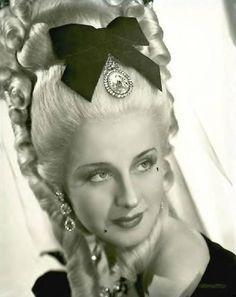 Marie Antoinette. Love the hair.