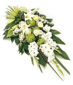 flowers for baby Jacob but with blue not green in the middle