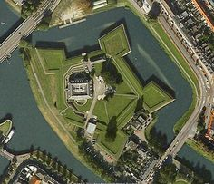 Star Fort in 's-Hertogenbosch by Geospatially, via Flickr