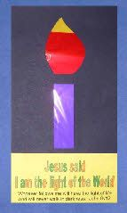 Luke 2v1-38 - Jesus the light and hope of the world. (Light of the world candle craft)