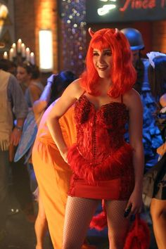 brooke davis as a she devil in episode 3x04 an attempt to tip - Davis Halloween Store