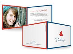 KartenEden Kommunion/Konfirmation Einladung WegenSegen