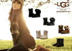 Love!!!  I'm sure these will be on one of my girls' Xmas list... #UGG #Boots FOR #Winter
