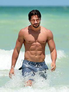 WET N WILD  Joe Man shirtless shirt sexy man sexy man with abs hot men hot man fit body  7286
