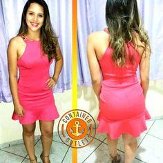 Como não amar esse vestido?!?  Dá uma olhadinha no preço.. apenas 59,99!! Só na Container Outlet T. Otoni! #VemProContainer #ContainerOutlet #GrandesMarcas #PequenosPreços