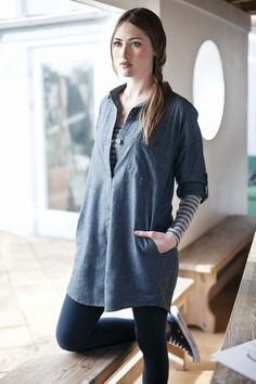 Totnes Shirt Dress | Seasalt