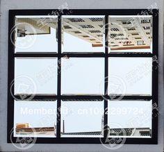 Metalowa rama lustra fazowane krawędzi ściany lustro dekoracyjne lustro