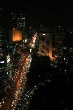 Jakarta city centre