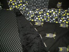 Baby room ideas. This is bedding I had a friend make for my sons room. Loved picking out the fabrics.