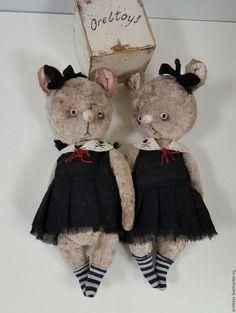 Ольга Орёл, Орёл Ольга, авторская кукла,авторская работа, orel olga, Olga Orel, oreltoys, мышка, друзья тедди.