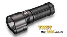 Special Offers - FENIX TK51 1800 Lumen Dual Beam CREE XM-L2 U2 LED Flashlight Uses 3 x 18650 rechargeable Li-ion batteries - In stock & Free Shipping. You can save more money! Check It (September 11 2016 at 06:44PM) >> http://flashlightusa.net/fenix-tk51-1800-lumen-dual-beam-cree-xm-l2-u2-led-flashlight-uses-3-x-18650-rechargeable-li-ion-batteries/