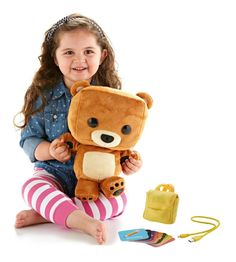 Fisher-Price Smart Toy Bear Technology Smart Toy Cute BTW Free shipping NEW #FisherPriceSmartToy