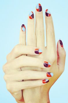 Nail Art | Tumblr simple and cute pattern