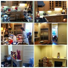 We created a happy cooking space out of a hectic kitchen mess #twirled #occasionalwife