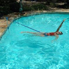 Finis stationary cords lane belt swim training swimming for Pool design certification