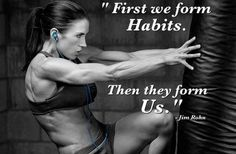 Make a work out plan for the week... and don't let yourself make excuses on not fully completing the plan.  Make working out a habit!!