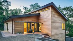 Blu Homes is trying to make affordable, attractive pre-fab homes. And soon, they'll produce more energy than they use.