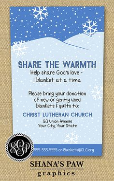 Clothing Drive School Church or by jjinspirationstudio on Etsy