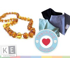 Purchase a pack of dribblies and get a Baltic Amber teething necklace AND get off your purchase! Counting the days! Baltic Amber Teething Necklace, Counting, Bracelets, Jewelry, Products, Bangles, Jewellery Making, Jewels, Jewlery