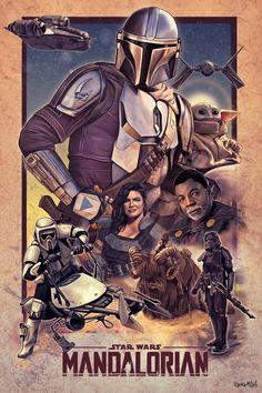 Star Wars Fan Art, Star Trek, Star Wars Pictures, Star Wars Images, Yoda Pictures, Regalos Star Wars, Mandalorian Poster, Cuadros Star Wars, Star Wars Wallpaper