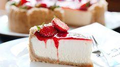 Mini Cheescake, Blondies, Cheesecakes, Food, Essen, Cheesecake, Meals, Yemek, Cherry Cheesecake Shooters