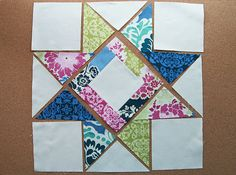 Solstice Stars Series : Another Star ~ Fresh Lemons Modern Quilts