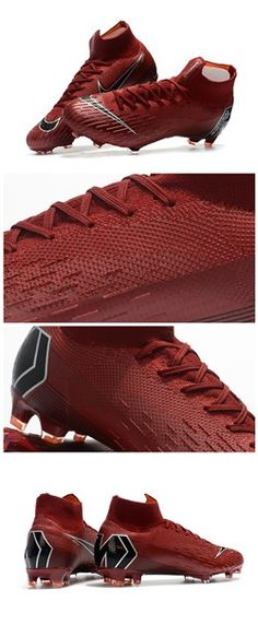 f481dafd9b Nike Mercurial Superfly 6 Elite FG Zapatillas de Fútbol - Carmesí Negro.  ChuteirasNike FutebolChuteiras ...