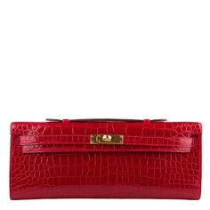 Hermes Braise Red Shiny Porosus Crocodile Kelly Cut GHW   AVAILABLE NOW For purchase inquiries, Please Contact: Email: info@madisonavenuecouture.com   Call (212) 207-4572   WhatsApp (917) 750-4502  Direct Message on Instagram: @madisonavenuecouture Guaranteed 100% Authentic   Worldwide Shipping   Bank Transfer or Credit Card