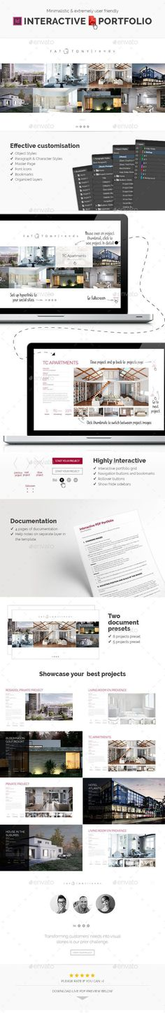 14 best interactive pdf design layout ideas images in 2017