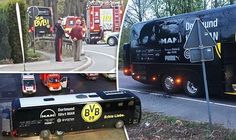 Police in Germany have charged a man suspected of being behind an attack on the Borussia Dortmund team bus.  Rather than having links to radical Islamism he was a market trader hoping to make money if the price of shares in the team fell prosecutors say.  The 28-year-old identified only as Sergej W was staying in the team's hotel in a room overlooking the street where the explosion took place.  Two people needed medical help after three bombs exploded near the bus.  Spanish footballer Marc…