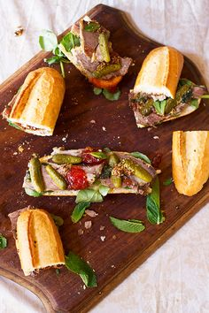 With delicious crispy mini french loafs pickled cucumber chilli and tomato jam and wholegrain mustard as condiments sandwich perfection! Lamb Sandwich, Best Sandwich, Food Styling, Leftover Roast Lamb, Tomato Jam, Pickling Cucumbers, Wrap Recipes, Wrap Sandwiches, Mustard