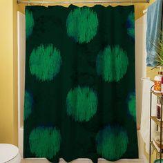 Big Dots Shower Curtain