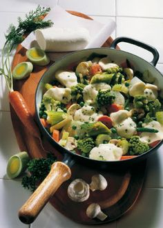 Low cholesterol recipes: vegetables pan Italia | Food & Drink