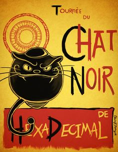 Chat Noir, Hexadecimal