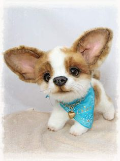 Chico the  chihuahua puppy by Artist+Bears+&+Friends+by+Jelena+K.(xellisart)