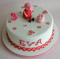 Peppa pig Cupcake ideas | Peppa pig cake