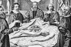 La Autopsia en el Arte: Autopsia del cadáver de una mujer. Amsterdam, s. XVII