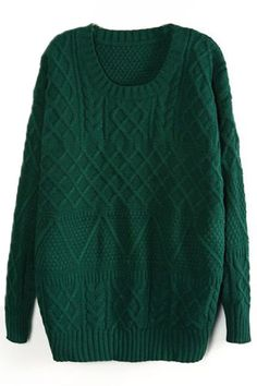 Emerald Green sweater...one in every color