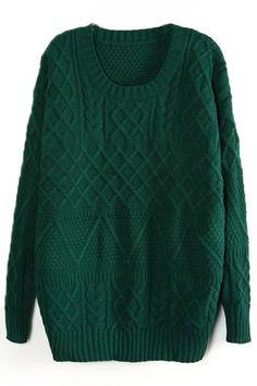 Emerald Green sweater. Need.