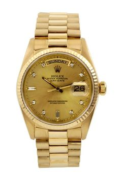 86432645705 Vintage Rolex Men s Day Date Presidential Yellow Gold Watch by Austin s  Watches on  HauteLook Day