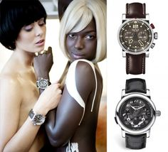 #Models sporting #Hanhart and #Montblanc timepieces