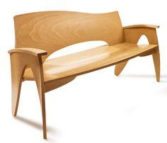Stewardship Bench by Peter Danko Designs