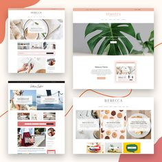 Rebecca - WordPress Blog and Shop Theme