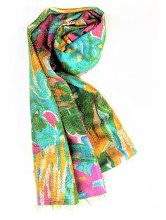 Vintage Kantha Silk