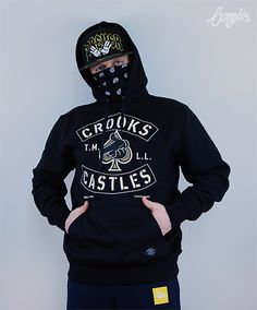 Bluza Crooks & Castles Airgun Spades Hoody