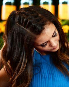 Nina Dobrev's Unicorn Braid Is Seriously Magical