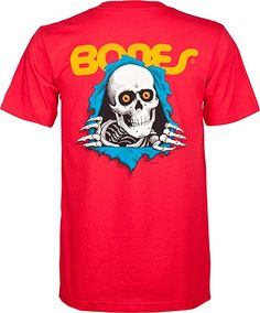 c39e0464283d Powell-Peralta Ripper T-Shirt, Red, Large Skateboard Store, Skateboard  Design