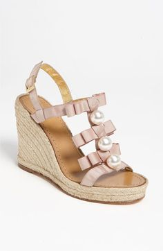 Love this kate spade wedge.  must have for spring/summer