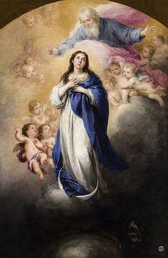 Inmaculada del Padre Eterno - Murillo - Museo de Bellas Artes de Sevilla